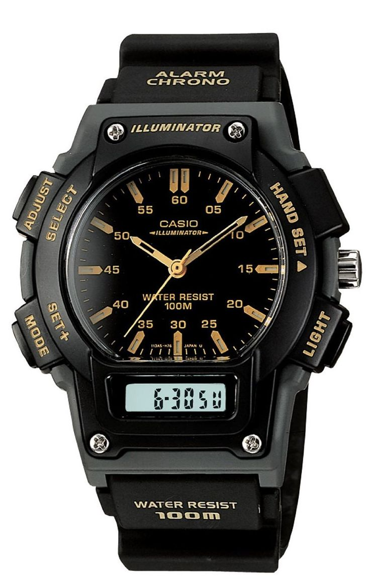 138 best images about watches for you polos geneva casio men s aq150w 1ev ana digi chronograph sport watch price 24 47