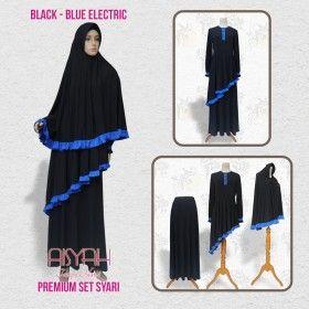 Busana Muslim - Syari Black