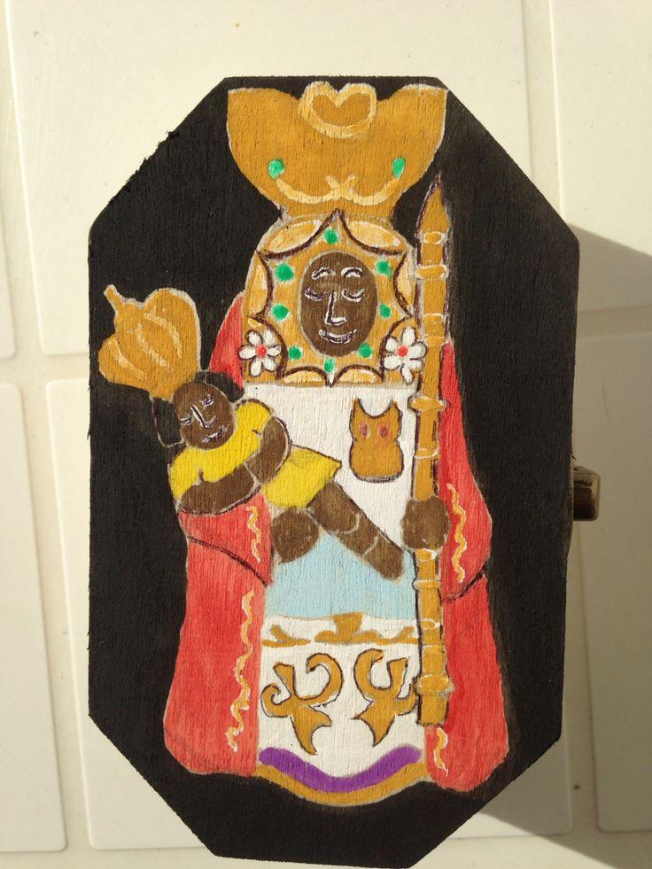 Zwarte Madonna, beschermheilige van Tenerife