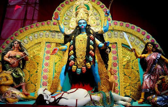 Image result for kali puja statue