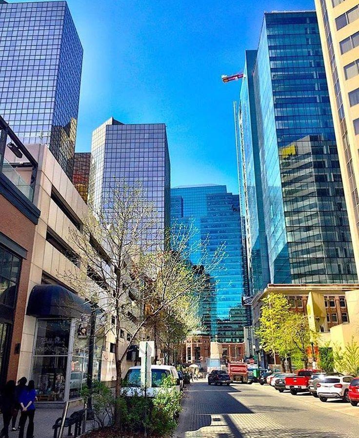 Downtown Edmonton, AB, Canada