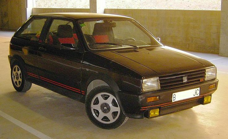 SEAT Ibiza Mk1SXI. Had one of these but not nearly as nice