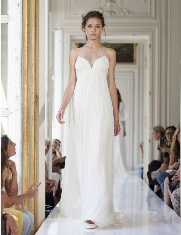 sur le thème Robe De Mariée En Mousseline sur Pinterest  Robes De ...