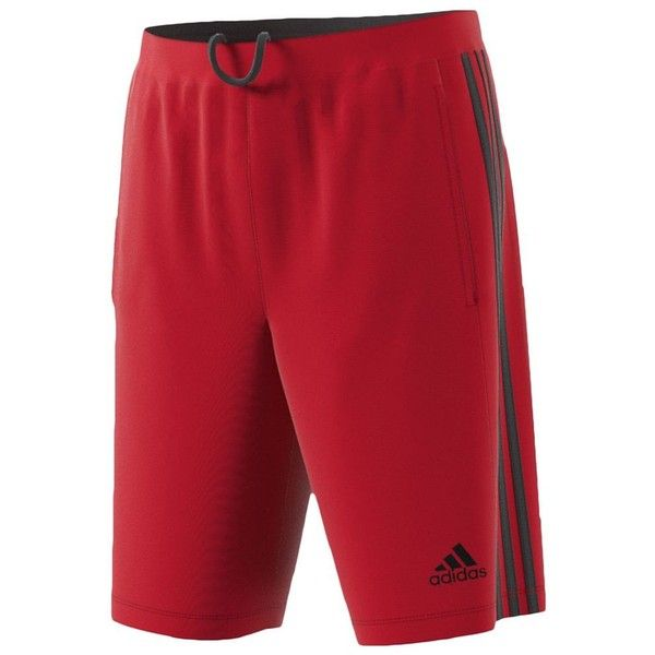 Big & Tall Adidas Designed To Move Climalite Performance Shorts ($30) ❤ liked on Polyvore featuring men's fashion, men's clothing, men's activewear, men's activewear shorts, med red, mens activewear shorts and mens big and tall activewear