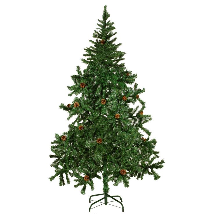 Simple Artificial Christmas Tree cm Xmas Pinecones Branches Holiday Celebration