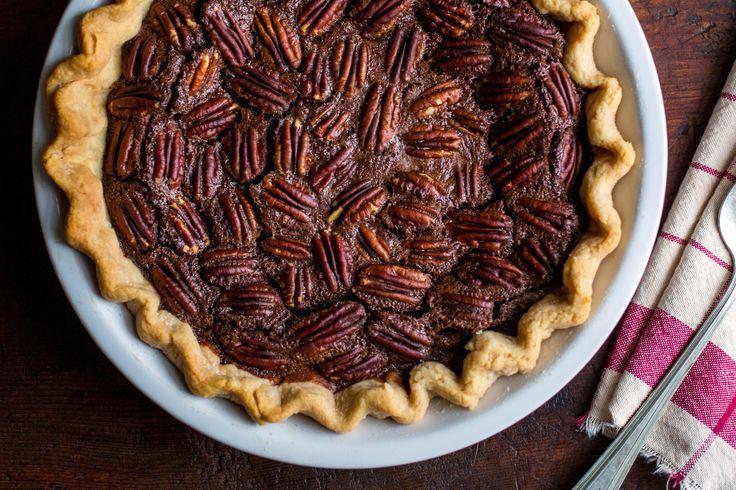 NYT Cooking: Chocolate Pecan Pie
