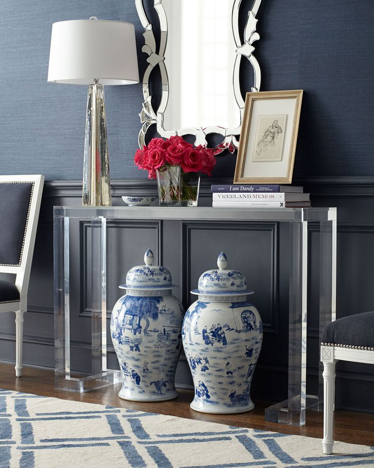 Best 25 contemporary console tables ideas on pinterest for Small acrylic console table