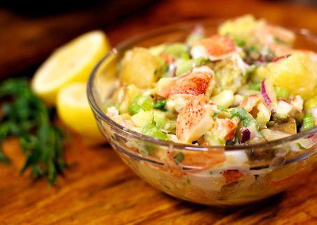lobster potato salad this recipe is originally from ina garten aka barefoot contessa - Ina Garten Shrimp Salad Recipe