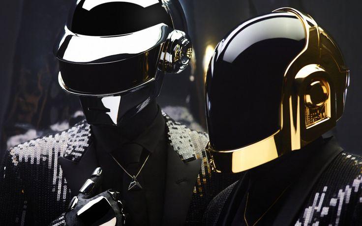 Музыка Daft Punk электронная музыка duo Парень Мануэль де Homem Христо Томас Bangalter 4 Размеры Домашнего Декора Холст Печати Плакатов