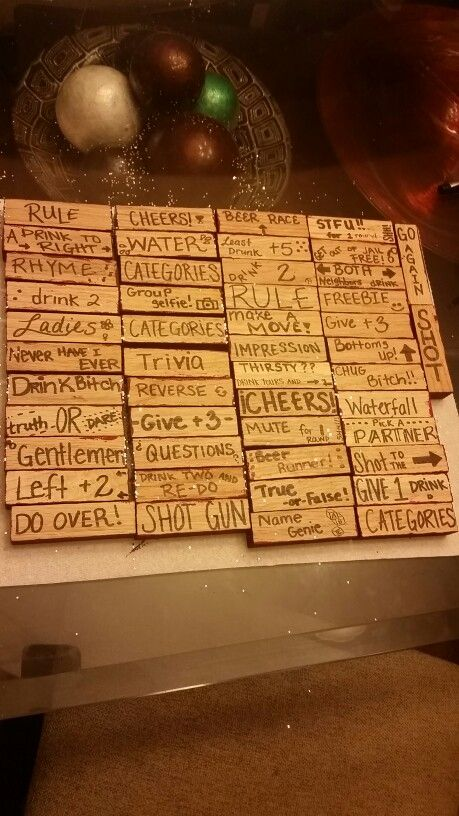 Jenga Blocks Drinking Game 17 Best ideas about Dr...