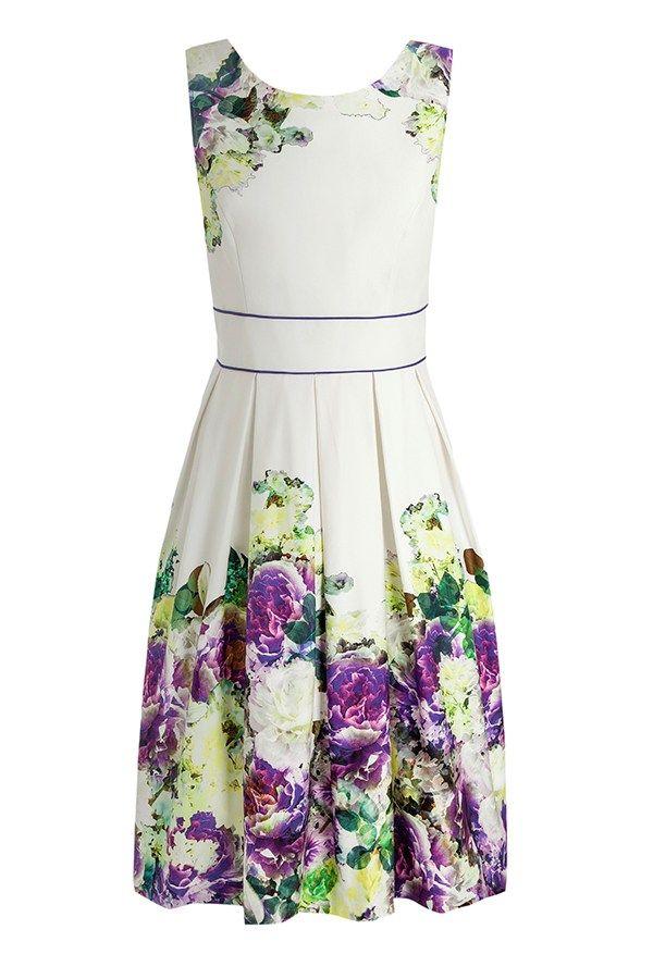 100 best wedding guest dresses 2015 | Floral dress, £65, Debut at Debenhams