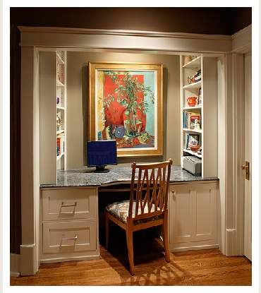 1000 images about home storage solutions for small for Small space office solutions