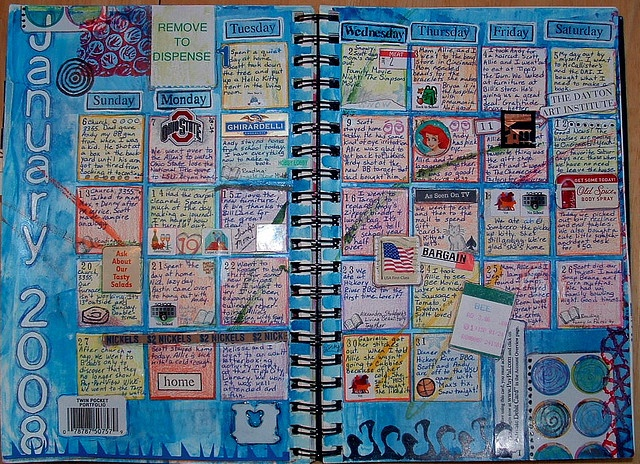 Calendar Art Journal : Best planners and calendars for journaling images on