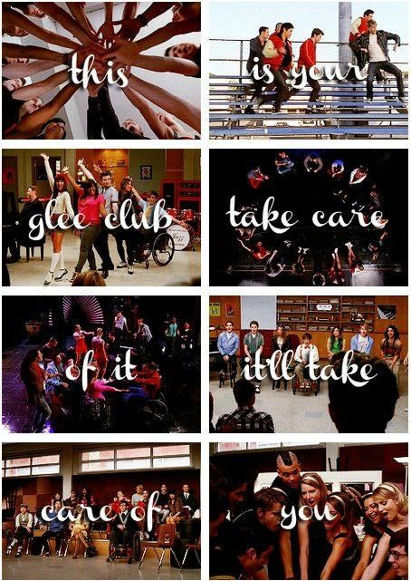 Take care of the glee club and it will take care of you