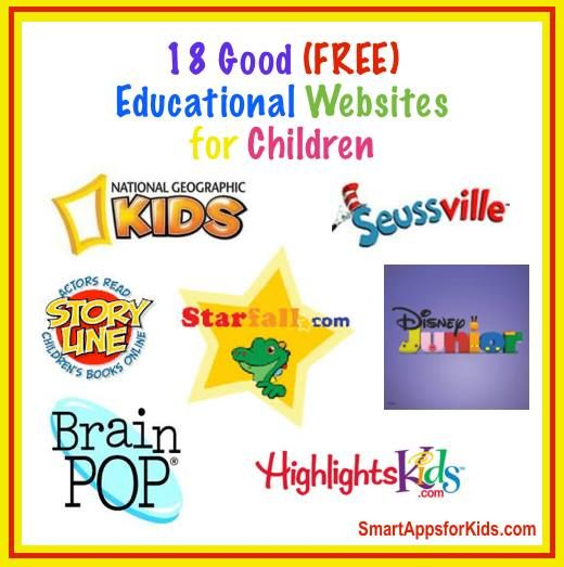 Updated! Top 22 Free Educational Websites for Kids TOP