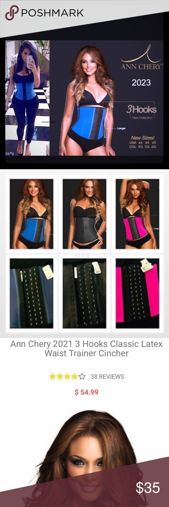 Ann Chery - Waist Trainer Are you ready to maximize your workout with a faja style waist cinching garment the workout band is an ann cherry waist cincher that you wear anytime you're going to be active. Take it to the gym or for a run outside and let it add impact to your healthy lifestyle routine. Here's how it works. You wrap the band around your midsection. This action creates compression in your core, stimulating thermal activity and ramping up perspiration. Ann Chery Other