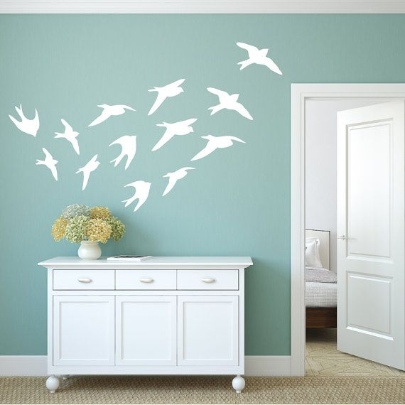bird wall decals bird decals bird wall decal bird wall decor bird wall art window decals bird window decal wall decor