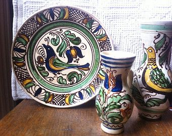 Hungarian ceramics.
