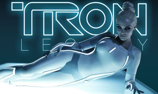 I love the costumes in Tron.  We tried to use the electroluminescent wires but they just did not give the right shade of white so we had to redesign (twice)  early pro type of Durga had Tron like influences.