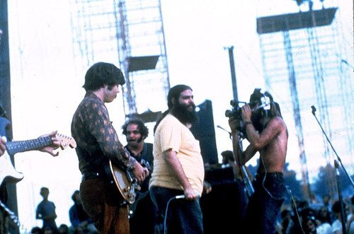 Canned Heat at Woodstock - Alan 'Blind Owl' Wilson on the left.