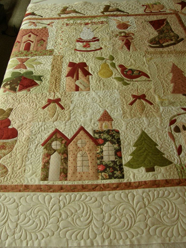Quilting by Barb Simons of StoneRidge Quilting, pieced by Ginny Zeitlow of Lidgerwood, ND