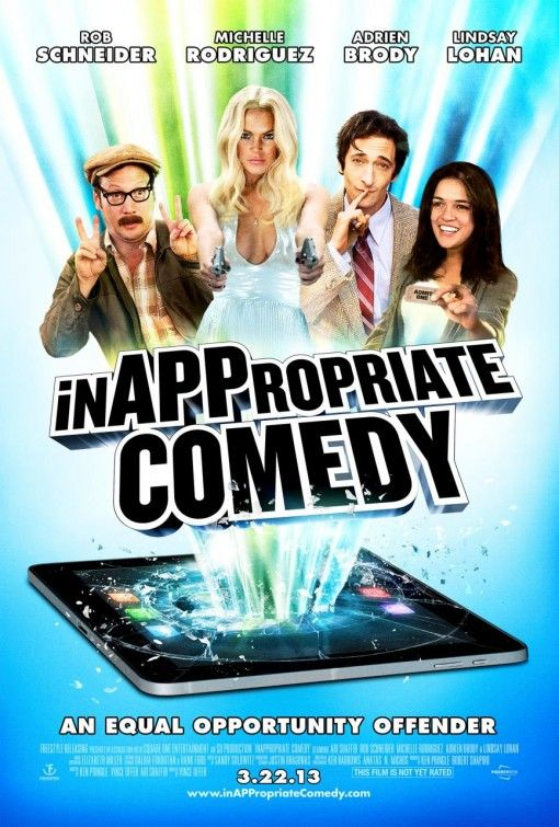 0★ InAPPropriate Comedy  Rarely does a movie make me angry. This one is so ugly, gross and brutally awful I feel compelled to save others from watching it.  Verdict- Burn it. Plot- No point. #movie