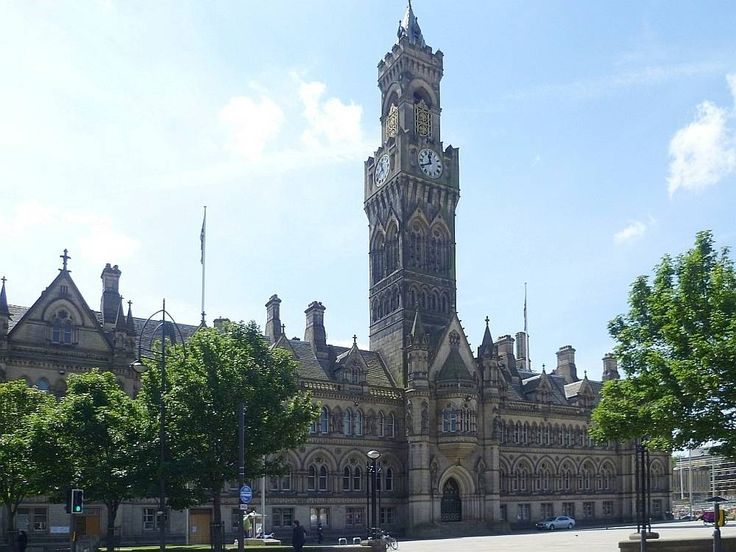 Bradford Town (now City) Hall by Lockwood & Mawson