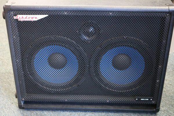Ashdown Abm 210h Speaker Cabinet For Bass Guitar Cab 2 X 10 Inch In 2020 Speaker Bass Guitar Guitar