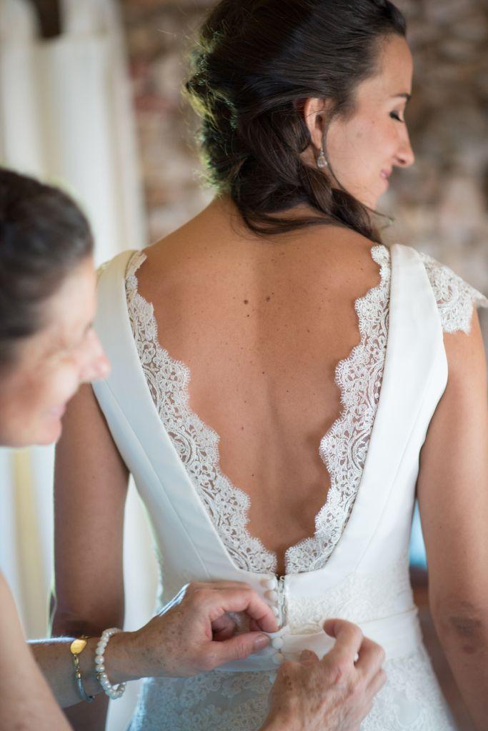 vestidos de diseñadores novias | La Boda de María