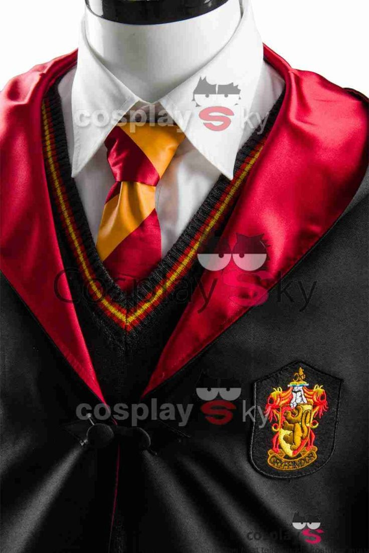 Harry Potter Gryffindor Robe Uniform Harry Potter Cosplay Costume Adults Ver._1