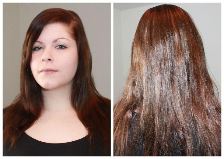 Keratin fur haare glatten