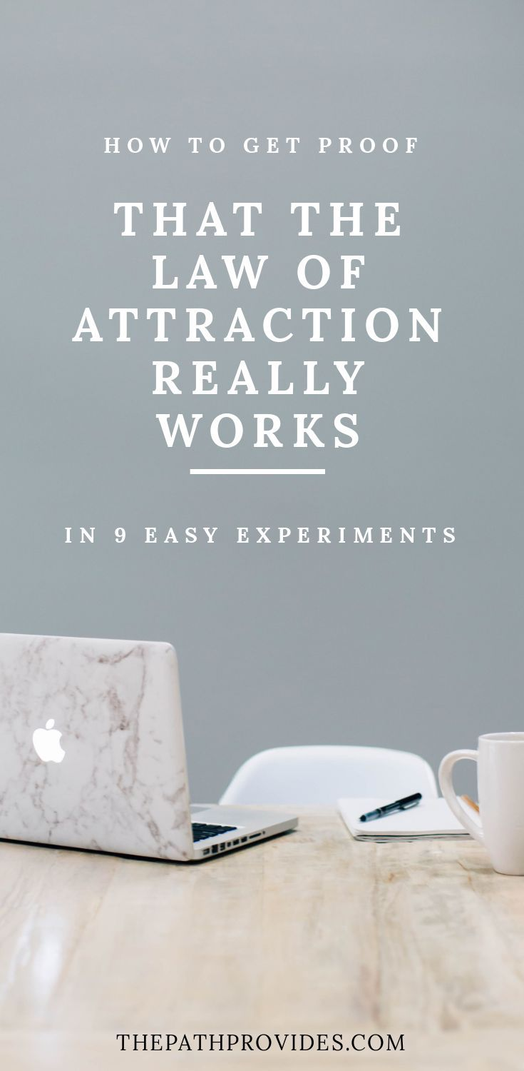 Law of Attraction Skeptic ? Here's how to get the proof you need