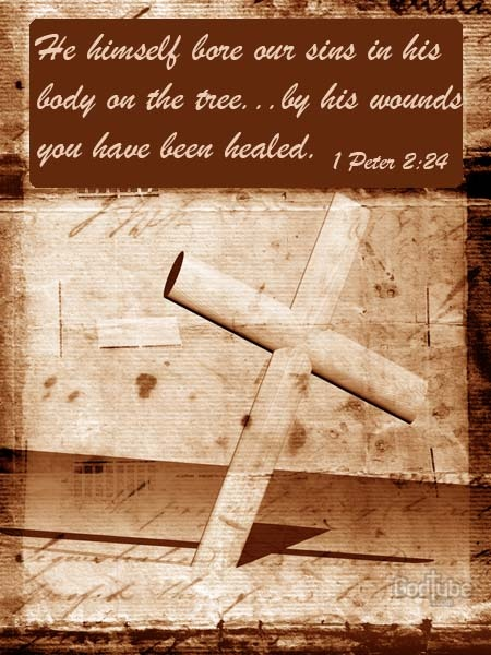 By His wounds we've been HEALED!