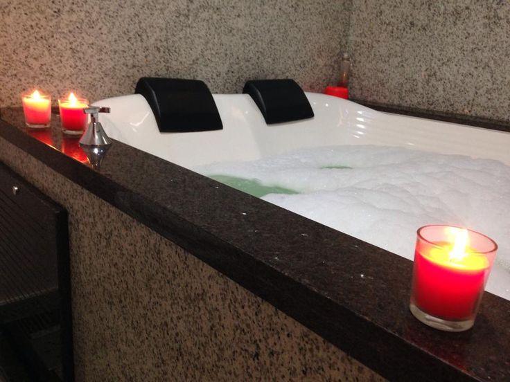 Banheira em Granito Café Imperial e Branco Ceará