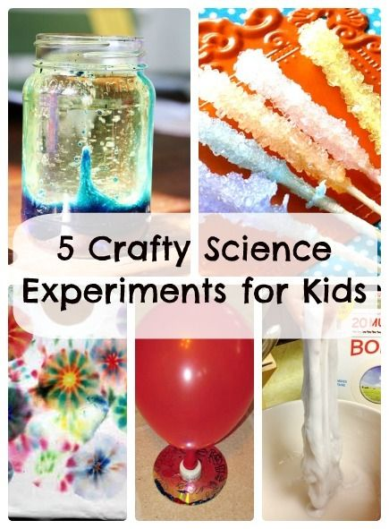 Crafty Science Experiments - A few fun #kids #crafts to do this summer!