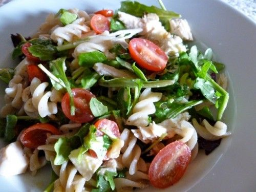 Weight Watchers Pasta Arugula Salad. Simple. Healthy. Delicious. 7 Weight Watchers Points Plus