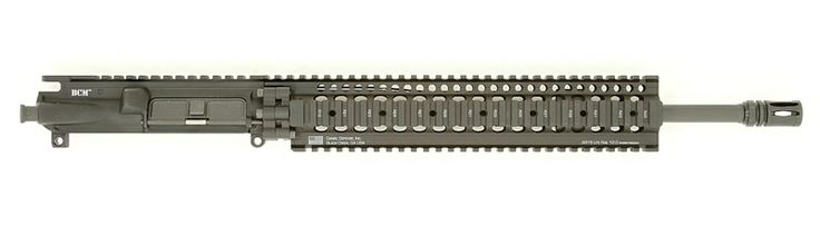 "BCM 16"" Mid Length LIGHT WEIGHT Upper Receiver Group w/ Daniel Defense LITE 12"" Handguard"