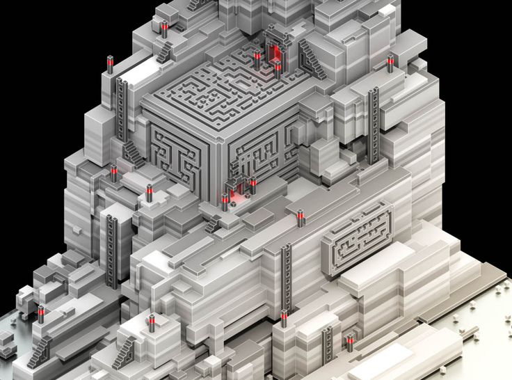 Ancient Tomb (Voxel art) – Saymygame