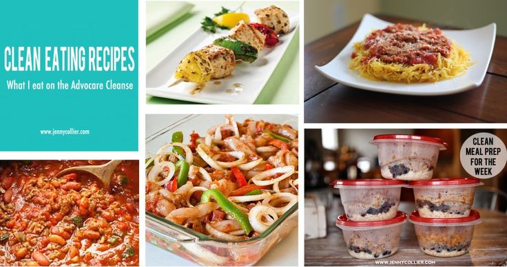 Weekly Menu: May 27 - June 2 {Advocare Recipes} - jenny collier blog