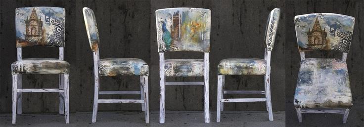 http://www.JasonAthen.com  Chairs I painted!