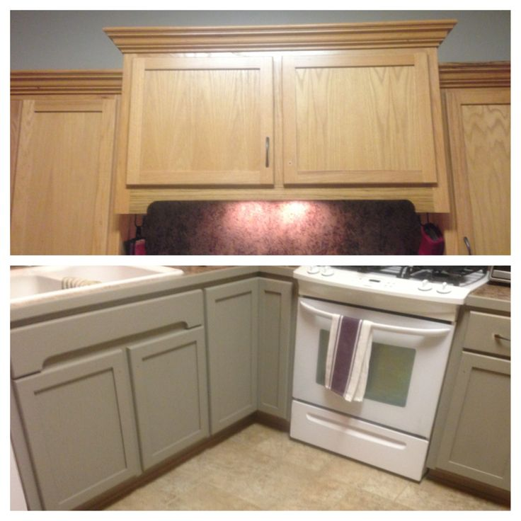 Chalk Paint On Kitchen Cabinets: In The Process Of Updating My Kitchen Cabinets With Annie