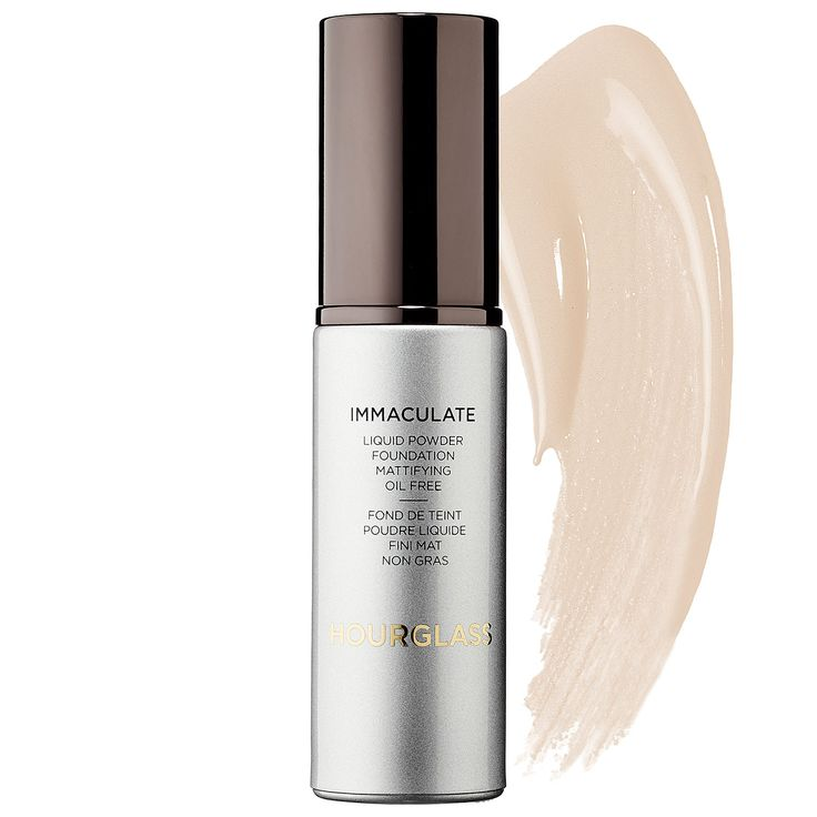 Hourglass Immaculate Liquid Powder Foundation http://www.womenshealthmag.com/beauty/most-expensive-beauty-products-women-spent-their-money-on/slide/9