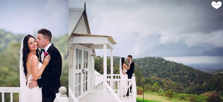 Elleri & Roby…Maleny Manor, Sunshine Coast Hinterland Wedding » Billeta Wood Photography