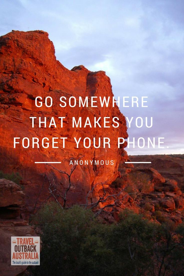 Which means the #outback, the Murray River, Mt Everest, Gili Air...