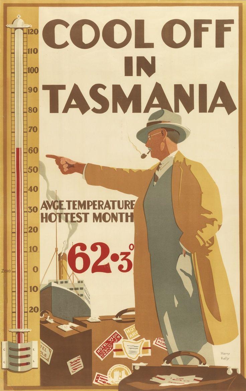Cool Off in Tasmania by Harry Kelly
