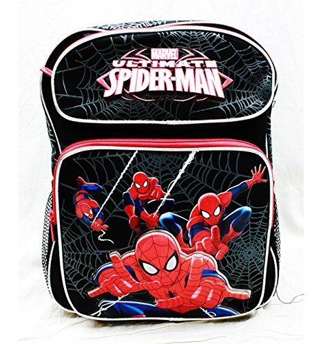 Spider-man 14 Backpack/lunch Bag Set @ niftywarehouse.com #NiftyWarehouse #Spiderman #Marvel #ComicBooks #TheAvengers #Avengers #Comics