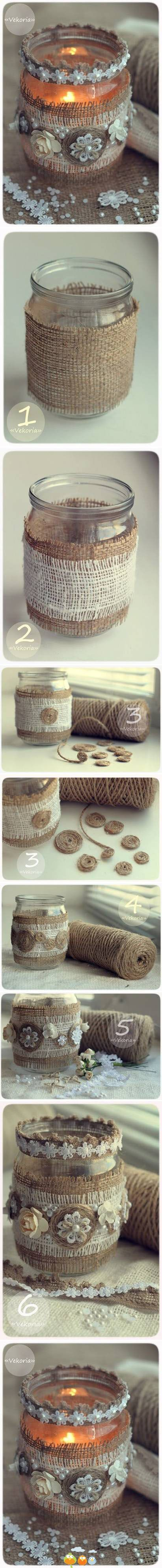 Repurposed jar craft