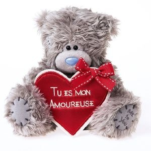 Peluche Me To You Amoureuse - Cadeau Saint Valentin - Cadodes.com