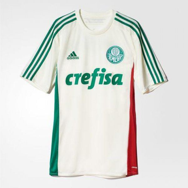 Camisa reserva do Palmeiras 2015 - http://colecaodecamisas.com/camisa-reserva-palmeiras-2015/ #colecaodecamisas #Adidas