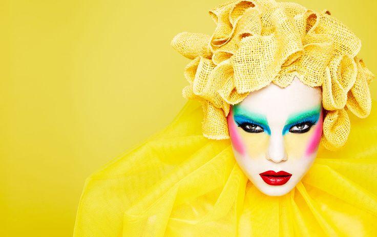 Rankin presents Ayami Nishimura, avant -garde makeup artist! xoxo jl